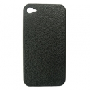 Faceplate Apple iPhone 4 Leather Feel Μαύρο