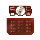 Γνήσιο Πληκτρολόγιο Sony Ericsson W910 Κόκκινο