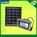 Ηλιακός προβολέας LED εσωτερικού και εξωτερικού χώρου με 4 iσχυρά LED - Φορτίζει την ημέρα φωτίζει αυτόματα την νύχτα [ΠΡΟΣΦΟΡΑ ΕΒΔΟΜΑΔΟΣ]