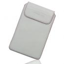 Θήκη Δερμάτινη Aniline Samsung Galaxy Tab Λευκό-Κόκκινη Ραφή
