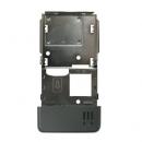 Γνήσιο Μεσαίο Πλαίσιο Sony Ericsson C902 Ασημί