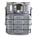 Πληκτρολόγιο Nokia 2310 Ασημί