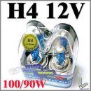����������� ������ ����������� H4 White HID XENON HB2 Headlight Bulb 12V 100 / 90W
