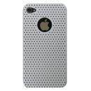 Faceplate Apple iPhone 4 Mesh Shell Λευκό