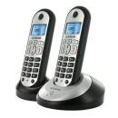 Ασύρματο Τηλέφωνο Sagem D21T ECO Duo Ασημί