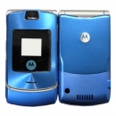 Πρόσοψη Motorola V3i Μπλε