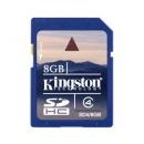 Κάρτα μνήμης SD Kingston 8Gb Class 4