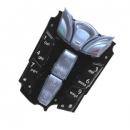 Πληκτρολόγιο Nokia 7250 Μαύρο-Μπλε