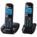 Ασύρματο Τηλέφωνο Panasonic KX-TG5512 Duo Μαύρο