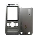 Γνήσια Πρόσοψη Sony Ericsson W890 Ασημί
