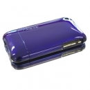 Θήκη Uunique Apple iPhone 3GS Reflect Vivid Μπλε & Θήκη Touch Matt Μαύρο