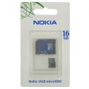 Κάρτα μνήμης Micro SD Nokia MU-44 16Gb + 1 ADP