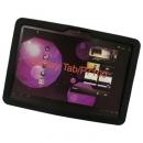 Θήκη Silicon Samsung P7100 Galaxy Tab 10.1 Flat Μαύρο