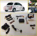 """Πλήρες kit parking sensor με 4 αισθητήρες - κάμερα οπισθοπορίας και TFT μόνιτορ 4,3"""""""