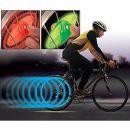Φωτεινή βαλβίδα τροχού που ενεργοποιείται με την φυγόκεντρο δύναμη για ασφάλεια και διακόσμηση (Σετ 2 τεμαχίων)