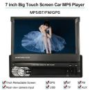 OEM Multiplayer Ραδιο Αυτοκινήτου LCD GPS Navigation Single 1 DIN Car Stereo DVD Player Bluetooth Ra