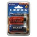 Μπαταρίες Alkaline Grundig 6000 mAh-LR20 1.5V (2 τεμ.)
