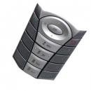 Πληκτρολόγιο Sagem X5-2 Ασημι-Σκούρο Γκρι
