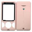 Γνήσια Πρόσοψη Sony Ericsson W205 Ροζ