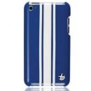 Θήκη Δερμάτινη Trexta Apple iPod Touch 4G Racing Λευκό σε Μπλε