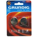 Lithium Button Cells Grundig CR2430 3V 280mAh 2 τεμ.