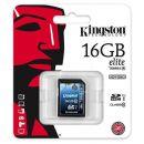 Κάρτα μνήμης SD C10 Kingston 16Gb