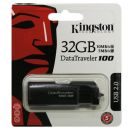 USB Flash Disk Kingston 32GB DT100 Gen 2