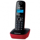 Ασύρματο Τηλέφωνο Panasonic KX-TG1611 Μαύρο-Κόκκινο