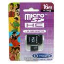 ΚΑΡΤΑ ΜΝΗΜΗΣ Micro SD Integral 16Gb-1ADP