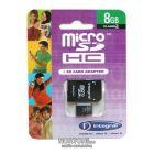 ΚΑΡΤΑ ΜΝΗΜΗΣ Micro SD Integral 8Gb-1ADP
