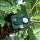 OEM Ηλεκτρονικός Απωθητής πουλιών με Radar ήχο και φώς 3in1 - Outdoor Solar Ultrasonic Pest Animal B