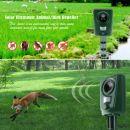 OEM Ηλεκτρονικός απωθητής πουλιών και άγριων ζώων - Ultrasonic Solar Battery Powered Animal Bat Bird Repeller Deterrent Repellent