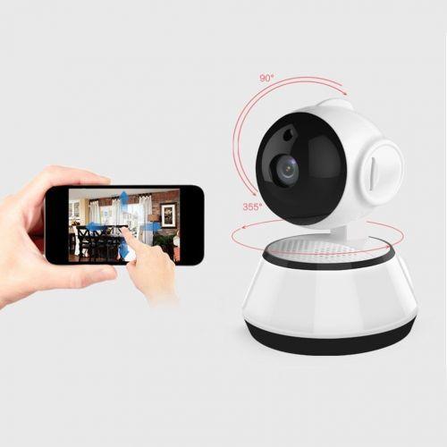Τηλεχειριζόμενη Ρομποτική κάμερα WiFi με αμφίδρομη επικοινωνία 720P Home Security HD WiFi CCTV IP Camera Wireless WI-FI Monitoring Camera