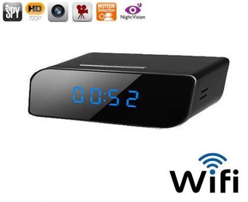 Κρυφή κάμερα IP ρολόι WiFi για να έχετε καταγραφή - εικόνα - ήχο στο κινητό σας OEM
