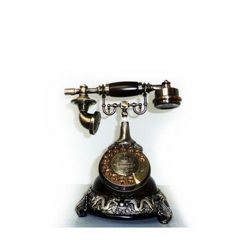 OEM Ρετρό σταθερό τηλέφωνο αντίκα - Retro vintage ασημένιος δράκος παλαιού τύπου