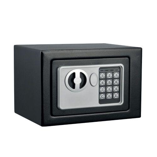 Χρηματοκιβώτιο ασφαλείας διαστάσεων 170 X 230 X170 mm με δυνατότητα ενσωμάτωσης στον τοίχο με ηλεκτρονική κλειδαριά και μηχανικό κλειδί 17Ε