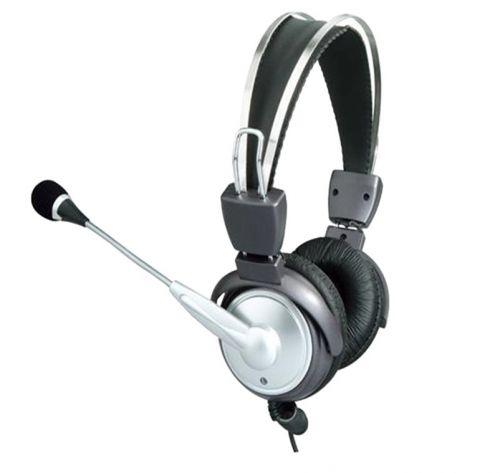 SPEED Aκουστικά PC με μικρόφωνο, ευαισθησία 103dB, 20-20000Hz, μήκος καλωδίου ~2.5m.