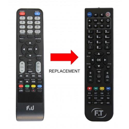 F&U REPLACEMENT REMOTE CONTROL
