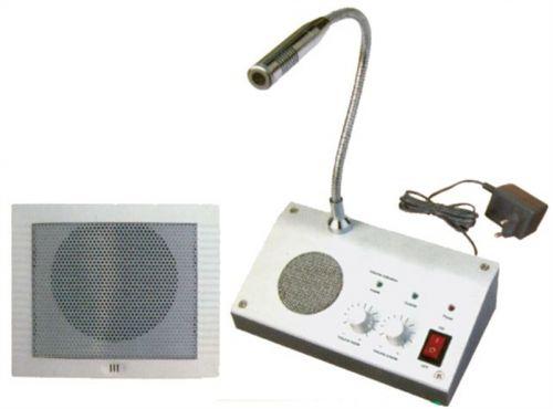 RL-9908/9909 ΣΕΤ ΕΝΔΟΕΠΙΚΟΙΝΩΝΙΑΣ Αμφίδρομο σύστημα ενδοεπικοινωνίας ειδικό για προστατευόμενους χώρους όπως ταμεία τραπεζών, γκισέ υπηρεσιών, φερυ μποτ κτλ