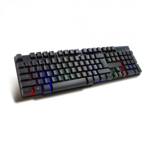 Πληκτρολόγιο Gaming USB Multimedia με οπίσθιο φωτισμό RGB VRGBK7023B