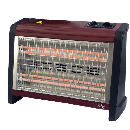 Θερμάστρα χαλαζία 1800W NEXUS NH1433