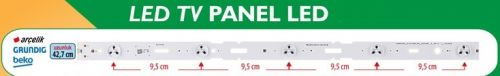 LED BAR ΓΙΑ LED TV GRUNDIG 40VLE4421BF LED BAR 2013ARC40-3228