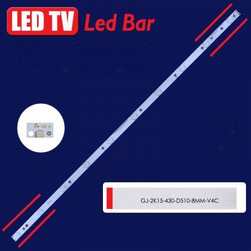 LED BAR ΓΙΑ LED TV PHILIPS LED BAR GJ-2K15-430-D510-17.8MM-V3.1