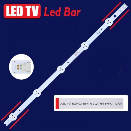 LED BAR ΓΙΑ LED TV LED BAR 6916L-1370A ROW2.1 REV 1.0 2 L2-TYPE 40.90CM