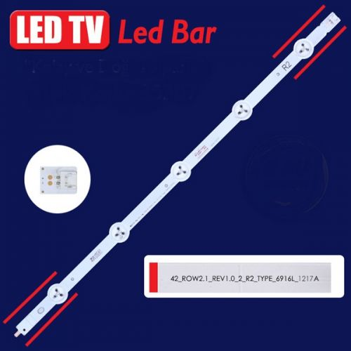 LED BAR ΓΙΑ LED TV LED BAR 6916L-1217A ROW2.1 REV 0.61 R2-TYPE 43.40CM