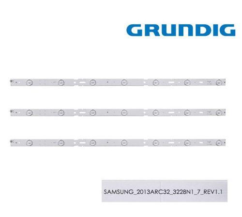 GRUNDIG SET 3PCS LED BAR 2013ARC32_3228N1_7-REV1.1