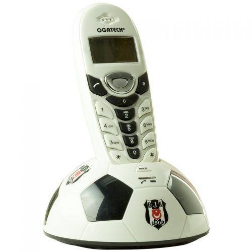 Ασύρματο τηλέφωνο OGATECH DECT με αναγνώριση κλήσης και φωτιζόμενη LCD οθόνη