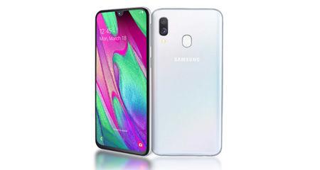 Κινητό Tηλέφωνο Samsung A405F Galaxy A40 (Dual SIM) 64GB 4GB RAM Λευκό