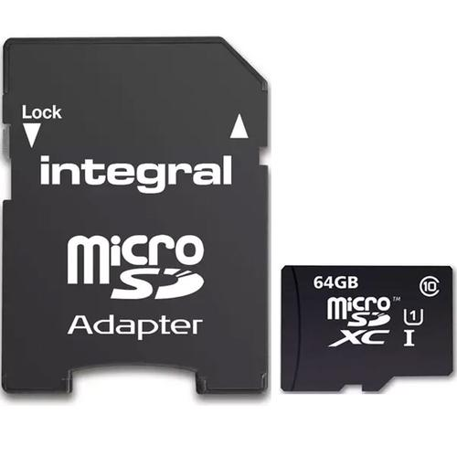Micro SD memory card 64GB HIGH SPEED - HIGH PERFORMANCE με δώρο Adaptor SD