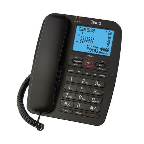Σταθερό επιτραπέζιο τηλέφωνο με αναγνώριση κλήσης Telco GCE6215